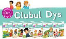 Clubul dislexicilor - o nouă colecție creată pentru copiii cu dificultăți de învățare