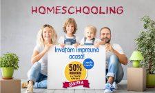 Homeschooling Clasele primare: Învățăm împreună acasă